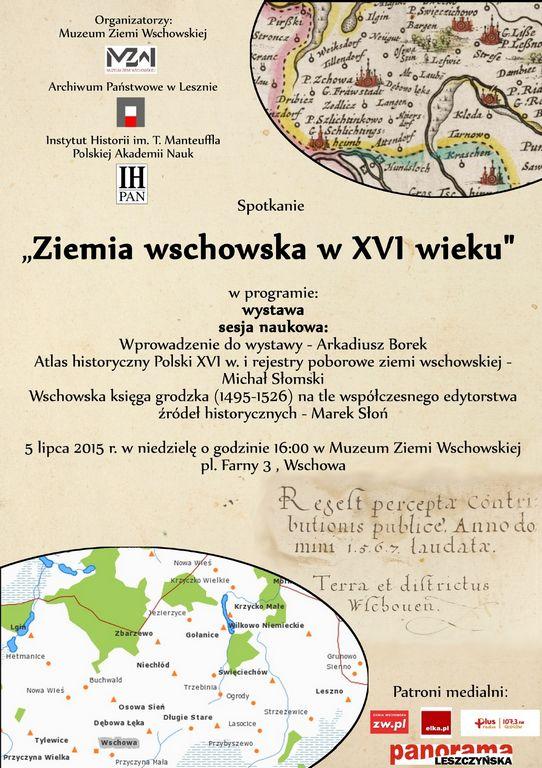 Atlas historyczny ziemi wschowskiej