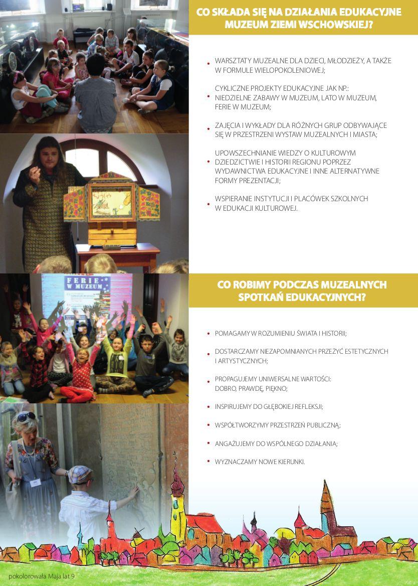 folder działania edukacyjne druga strona