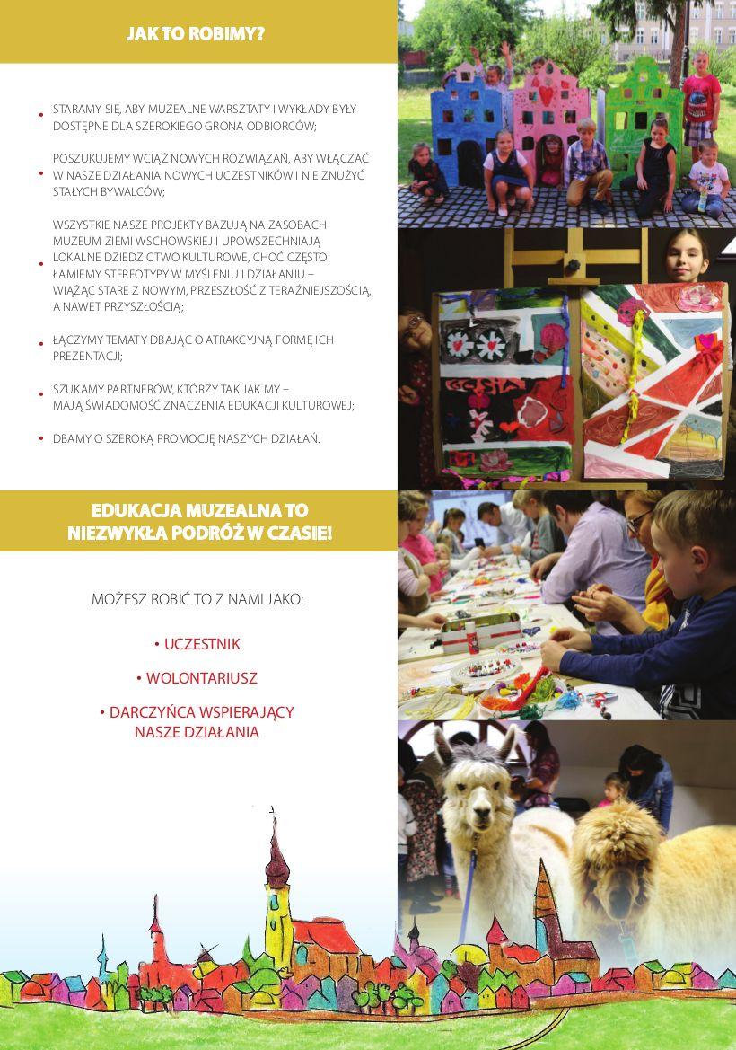 folder działania edukacyjne trzecia strona