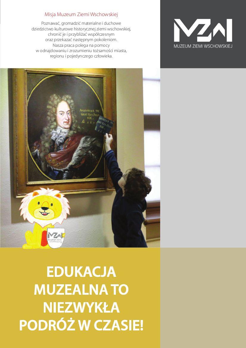 folder działania edukyjne pierwsza strona