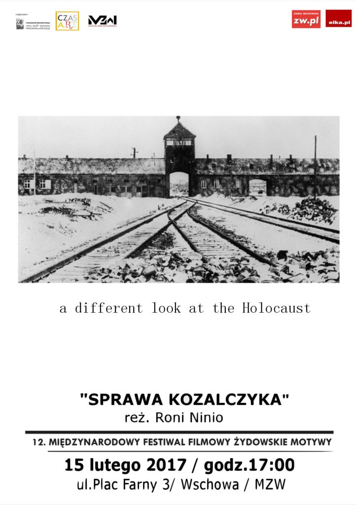 plakat Żydowskie Motywy 15 lutego 2017- 1