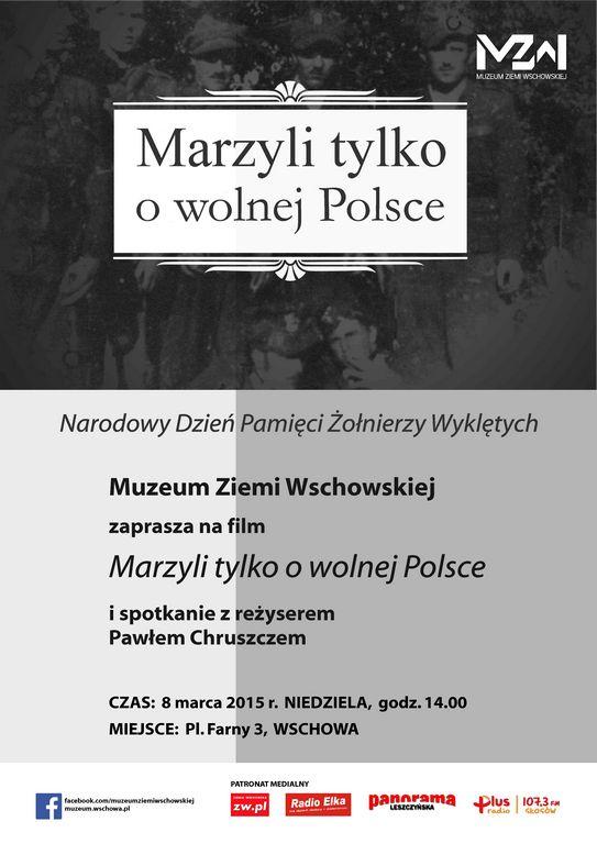 plakat 8 marca 2015