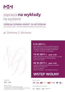 plakat wykłady listopad 2017